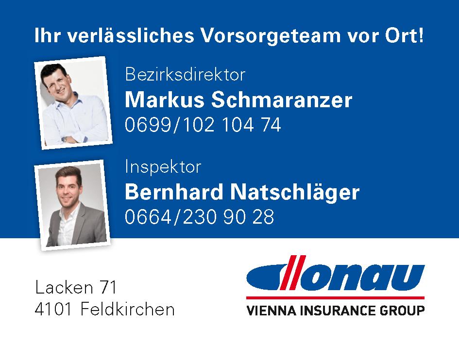 Donau Versicherung - Versicherungsteam Schmaranzer-Natschläger