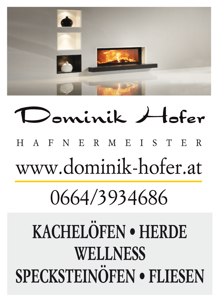 Dominik Hofer - Öfen